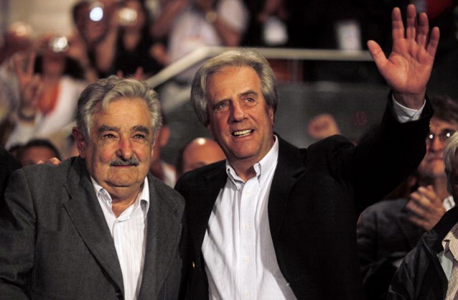 Tabaré Vázquez, presidente electo en segunda vuelta en Uruguay
