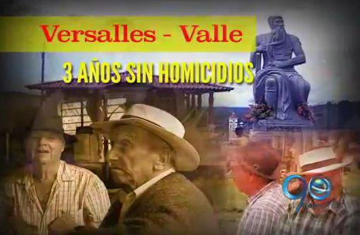 Municipio de Versalles completa 3 años sin homicidios (2a. parte)