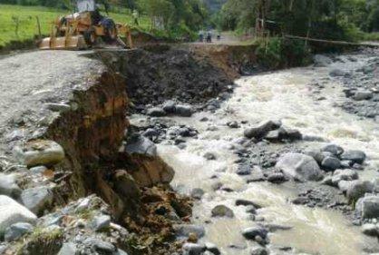 Varios desaparecidos deja avalancha en Dagua