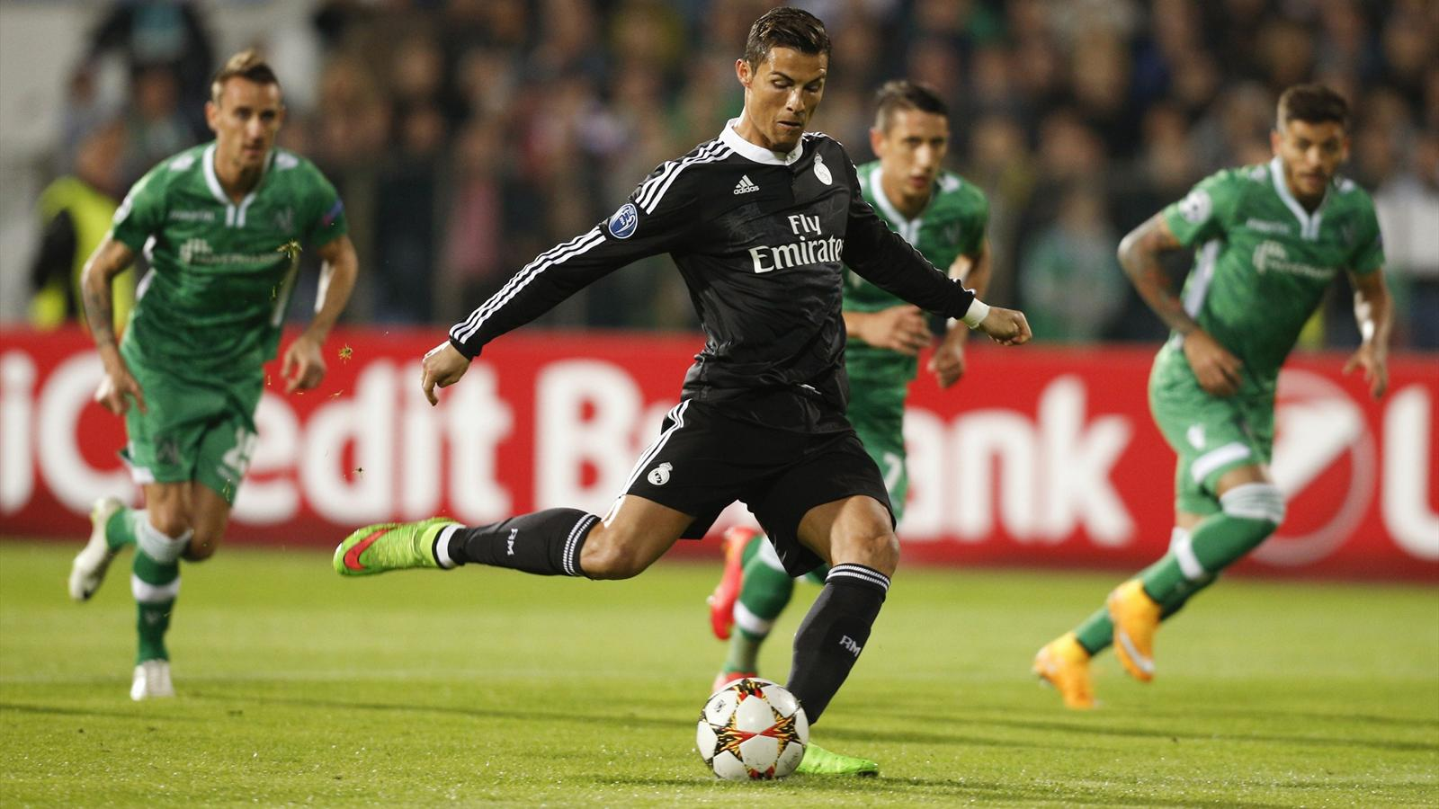 Real Madrid ganó en la Champions y batió récord de victorias