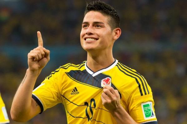 Periodistas escogieron a James Rodríguez como el personaje del año