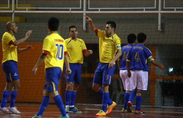 Selección Colombia de microfútbol sigue en camino al título del Suramericano