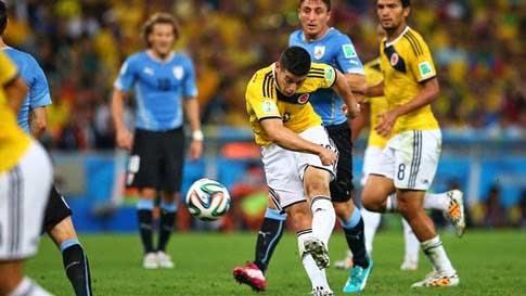 Gol de James Rodríguez, finalista a mejor gol del año de la Fifa