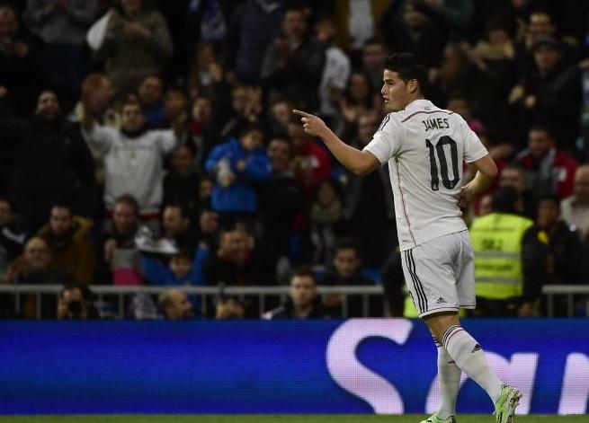 ¡Partidazo de James Rodríguez!: marcó doblete en la Copa del Rey