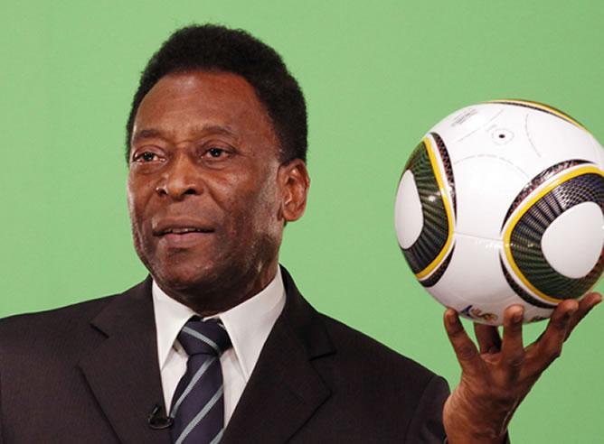 Pelé dice que nunca tuvo miedo de morir y le dieron de alta