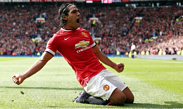 Falcao sigue sumando minutos con el Manchester United
