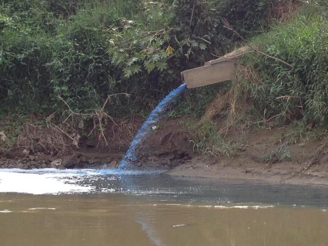 Empresas deben declarar vertimientos que hacen a los ríos del departamento