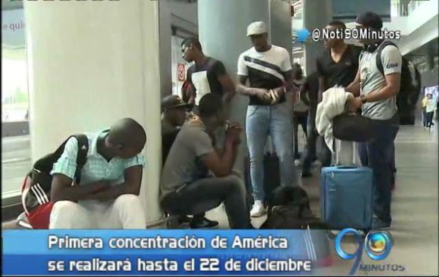 América ya está concentrado en Chía para los cuadrangulares de enero