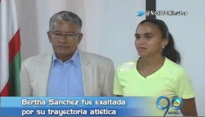 Bertha Sánchez será la homenajeada con Carrera Atlética Río Cali