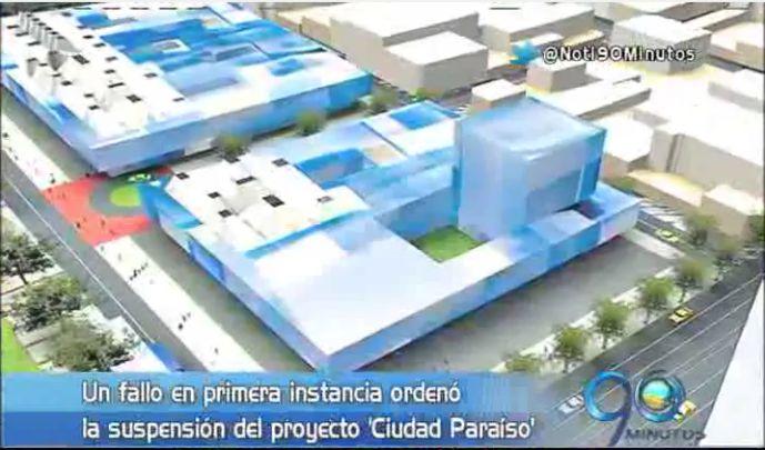 Alcaldía impugnará fallo que suspende obras en Ciudad Paraíso