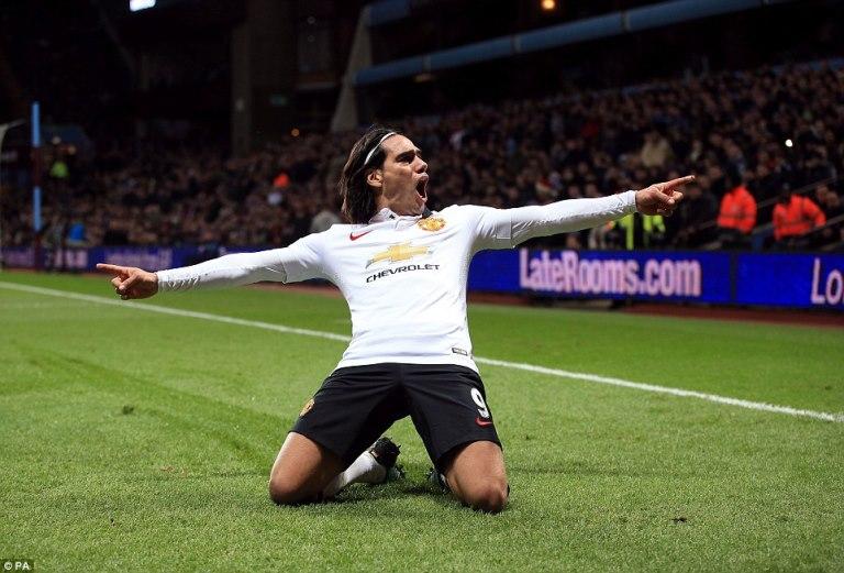 Falcao regresó a la canchas y anotó en el empate frente a Aston Villa