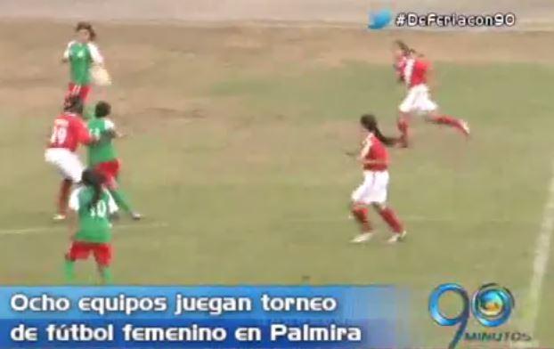 Inicia en Palmira el campeonato nacional de fútbol femenino