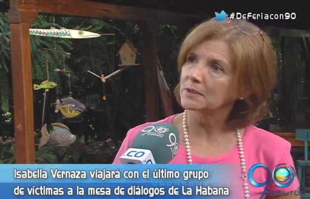 La ex secuestrada del Valle que viajó a la Habana
