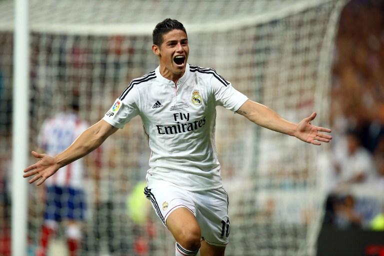 James Rodríguez se entrenó de nuevo con el Real Madrid