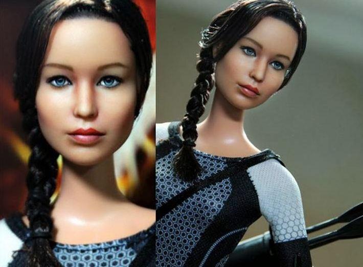 Filipino crea muñeca de actriz de Los Juegos del Hambre