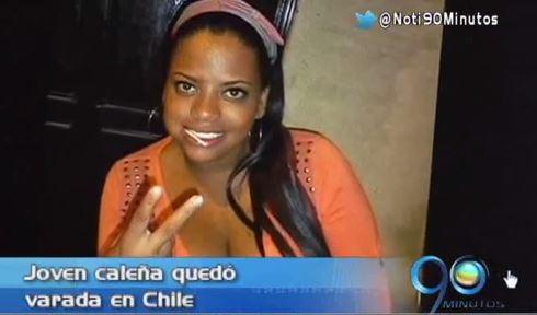 Joven caleña solicita ayuda al Consulado para regresar desde Chile
