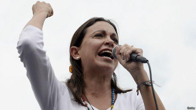 Acusan de conspiración a exdiputada María Corina Machado