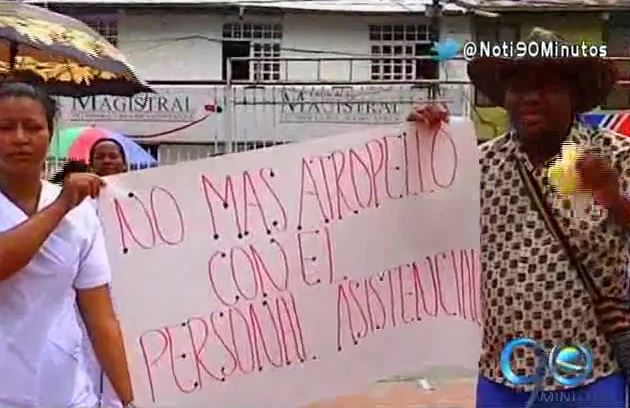 Empleados del Hospital San Francisco de Asís de Quibdó entraron en paro