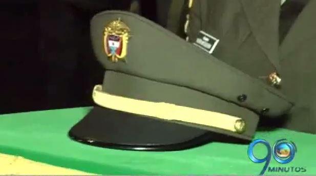 Honras fúnebres a comandante de estación de Policía de López de Micay, Cauca