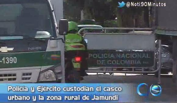 Policía y Ejército custodian casco urbano y zona rural de Jamundí