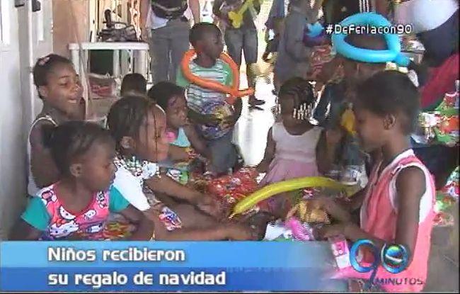 #UnRegaloUnaSonrisa logró que niños de Potrero Grande tuvieran feliz navidad