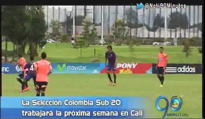 Selección Colombia Sub 20 adelantará preparación en Cali