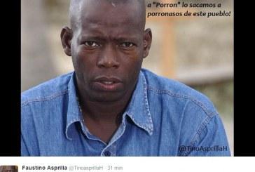 'Tino' Asprilla denunció que ahora amenazaron a su familia