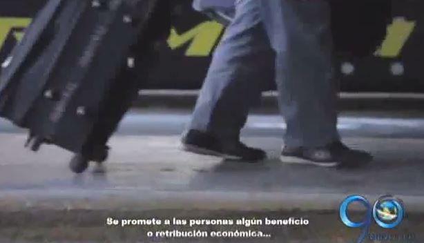 Autoridades advierten sobre redes de trata de personas en fin de año