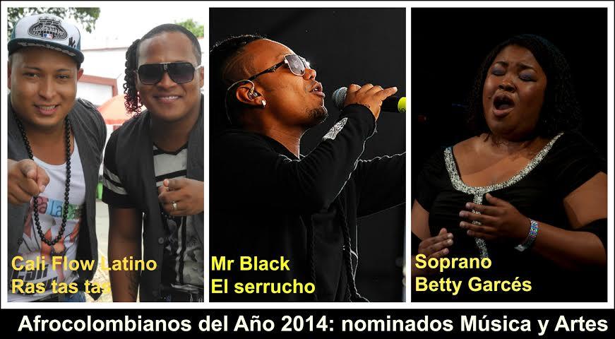 El Valle tiene cuatro nominados afrocolombianos del Año