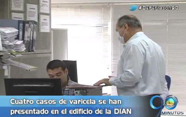No hay emergencia sanitaria en la seccional de impuestos de la Dian en Cali