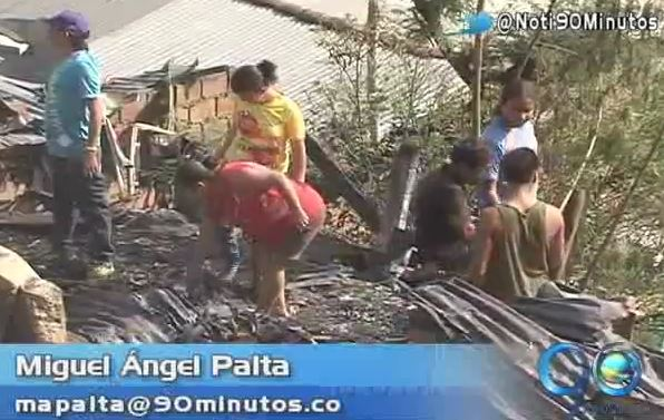 Damnificados del incendio en zona de ladera de Yumbo reclaman ayudas