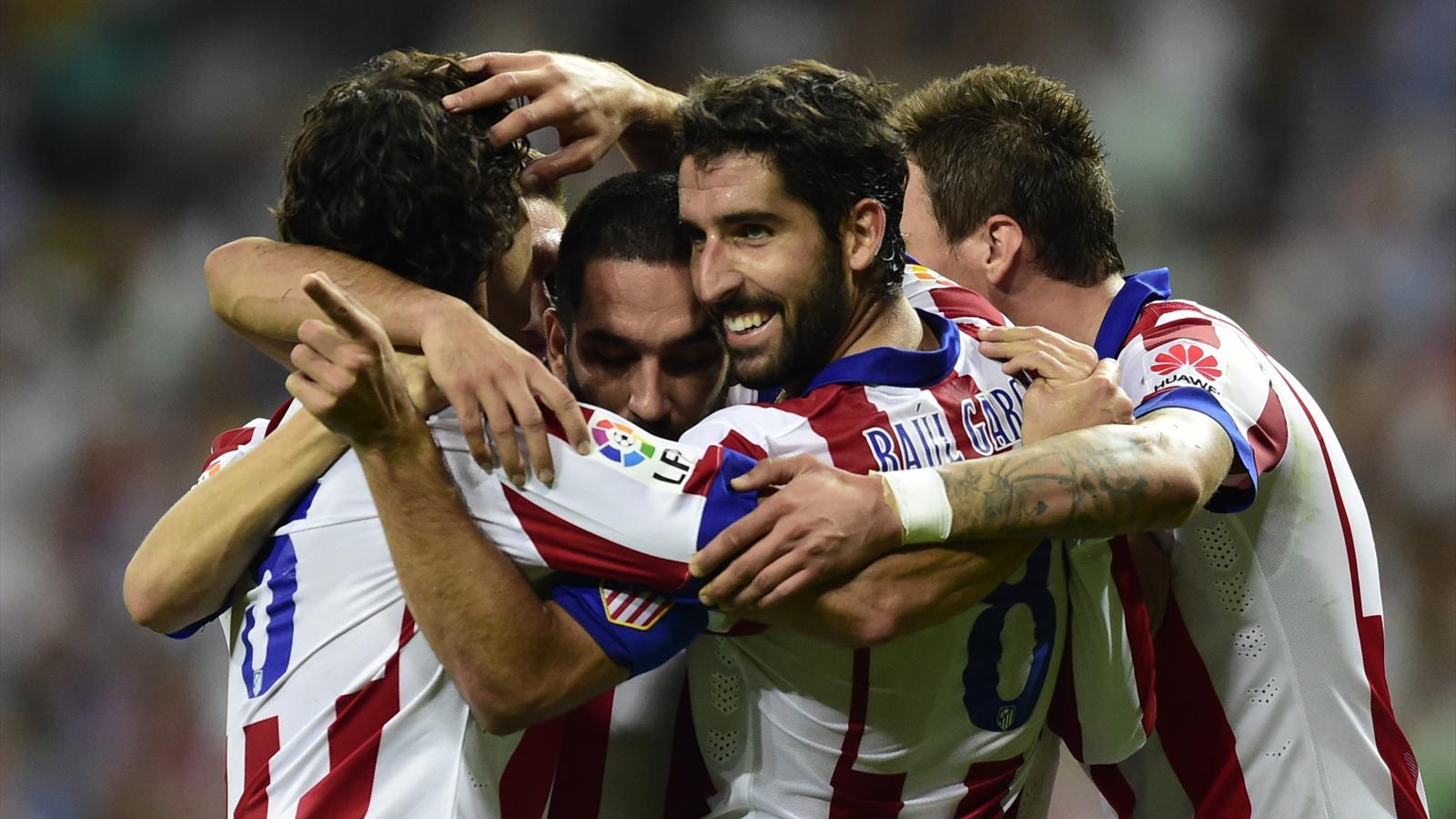 Atlético pegó primero en el clásico de Madrid por la Copa del Rey
