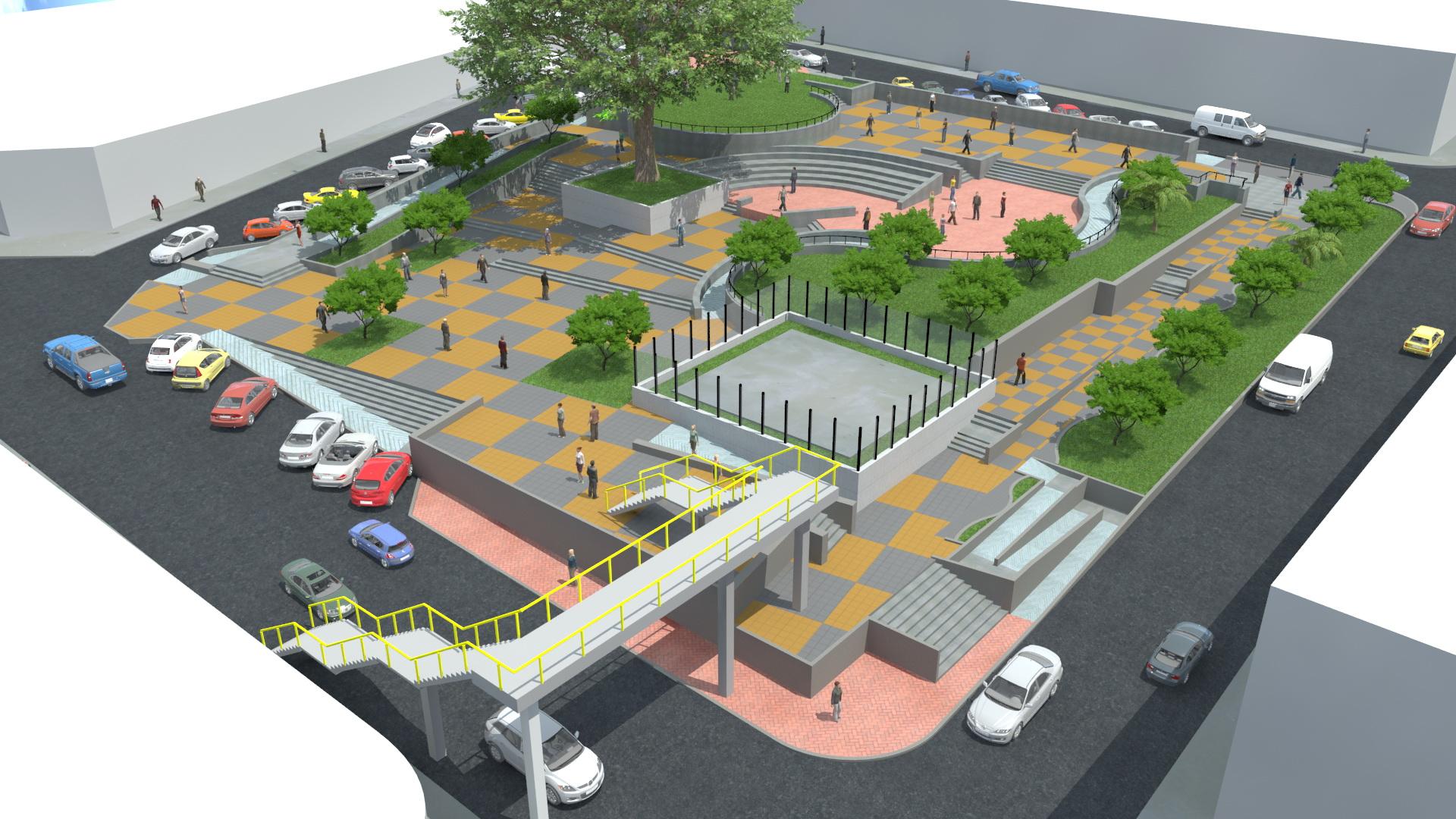 Obras en los parques de Dagua, Valle, adornarán el municipio