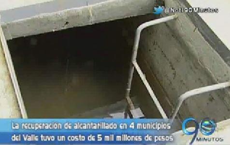 Cuatro municipios del Valle renovaron su acueducto y alcantarillado
