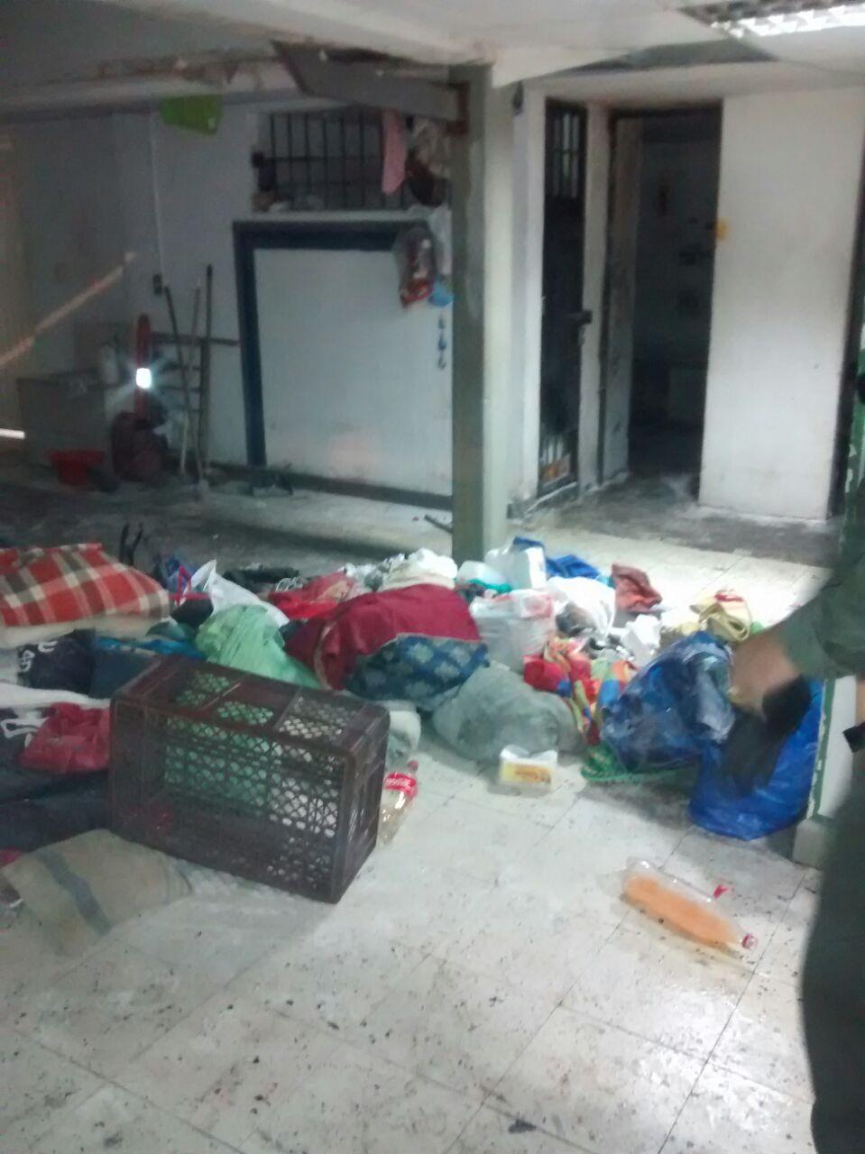 Conato de fuga en la estación de policía del Barrio Junín
