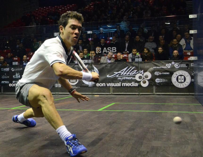 Miguel Ángel Rodríguez ganó el Motor City Open de squash en Detroit