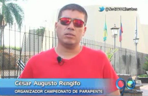 Inicia el Nacional de parapente en Roldanillo, Valle