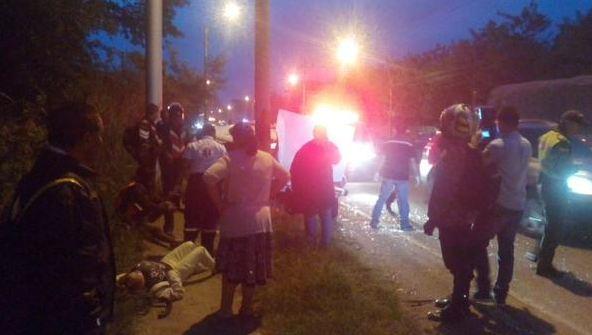 Accidente en vía Cali – Jamundí deja tres heridos