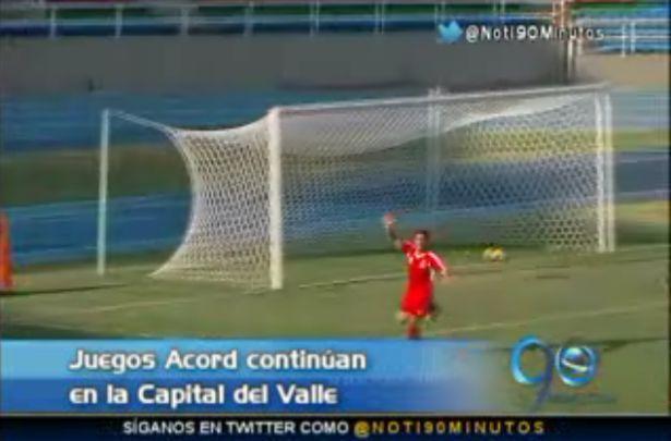 Valle goleó a Boyacá en el torneo de fútbol de los Juegos Acord