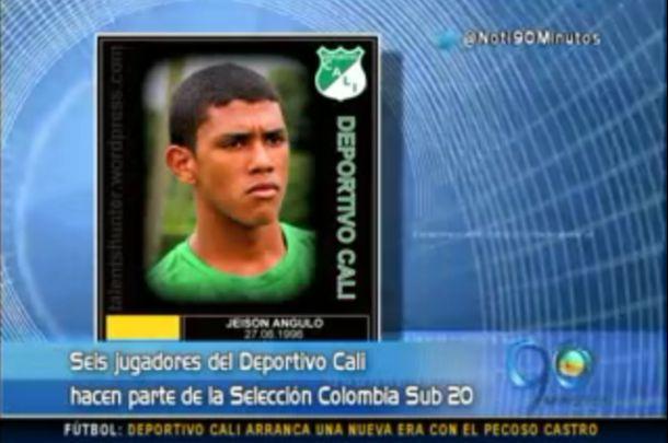 Deportivo Cali, club que más jugadores ha aportado a Selección Sub 20