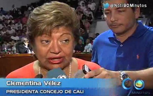 Tras 40 años, Clementina Vélez vuelve ser presidenta del Concejo de Cali