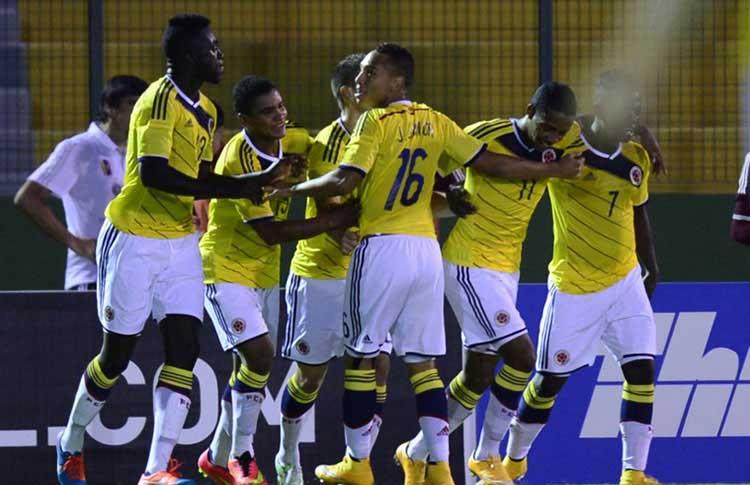 Colombia ganó por la mínima y avanzó de ronda en el Sub 20