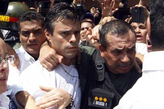 Descartan canje de Leopoldo López propuesto por Maduro