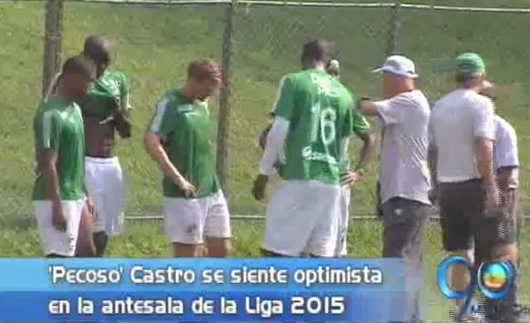 'Pecoso' Castro ve con optimismo el inicio de la Liga con Deportivo Cali
