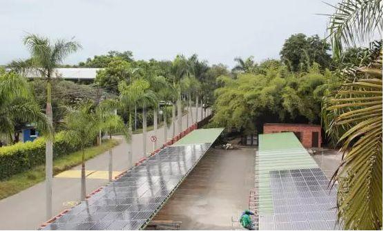 La Uao cuenta con el sistema fotovoltaico más grande del país.