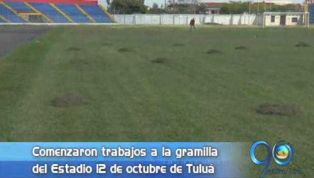 El estadio 12 de Octubre de Tuluá se prepara para el inicio de la Liga