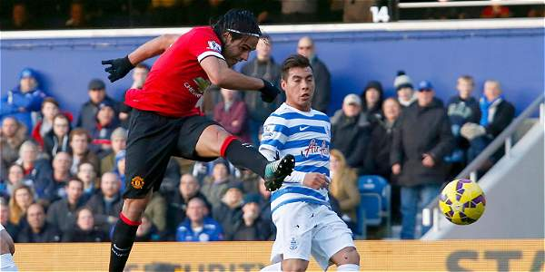 Con Falcao en la cancha, Manchester United venció al Queens Park Rangers