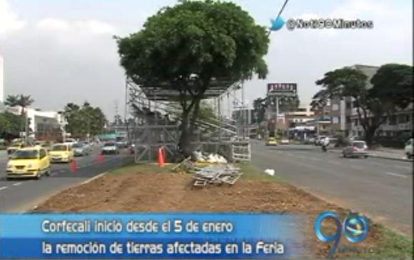Corfecali retiró graderías pero comunidad se queja por daños a terrenos