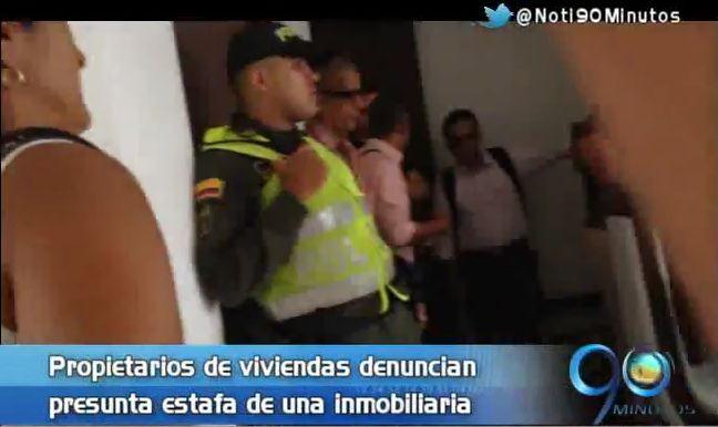 Víctimas encararon a personal de inmobiliaria que los habría robado