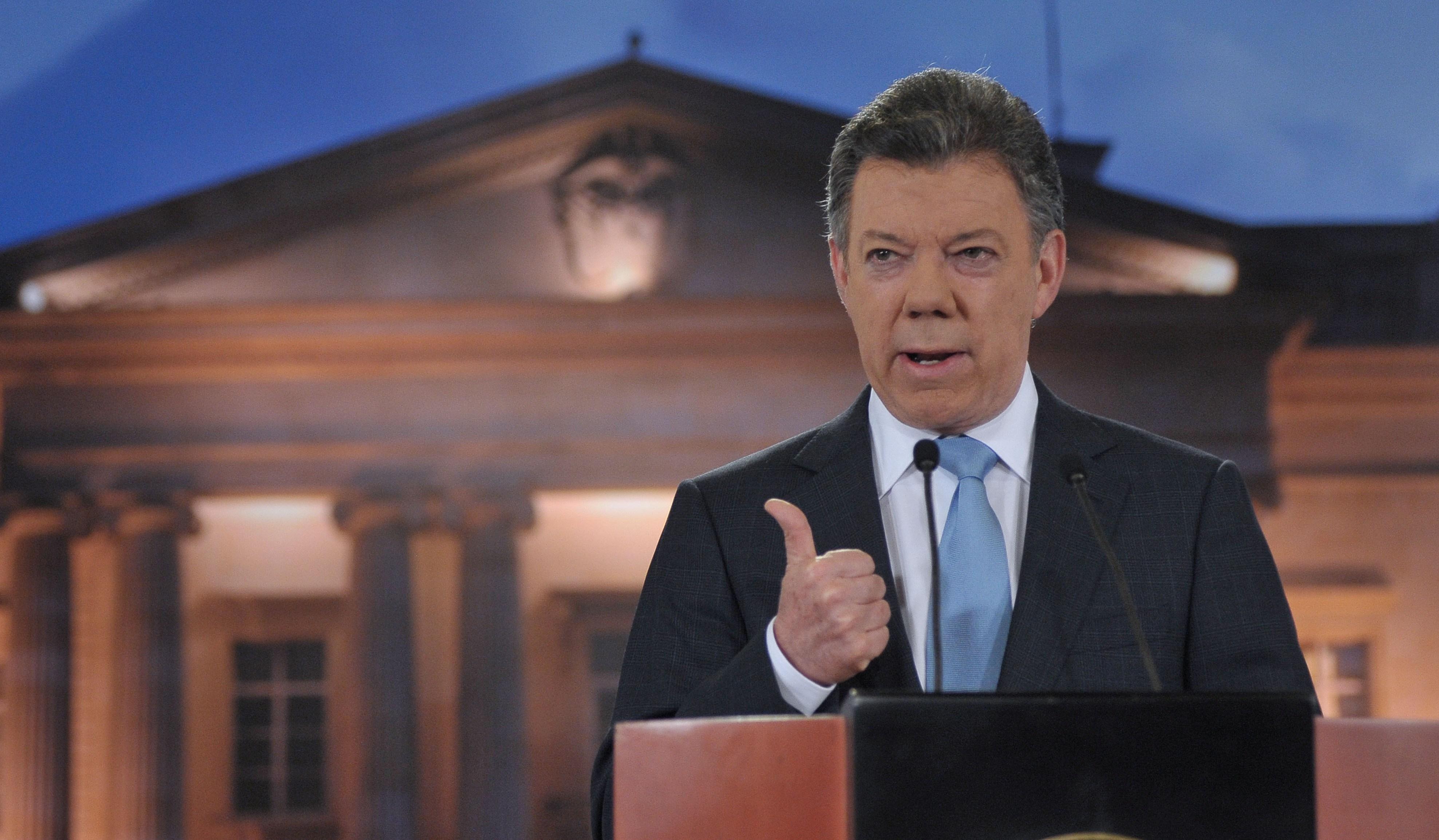 Santos afirmó que en 2014 se ejecutó el 92% del presupuesto